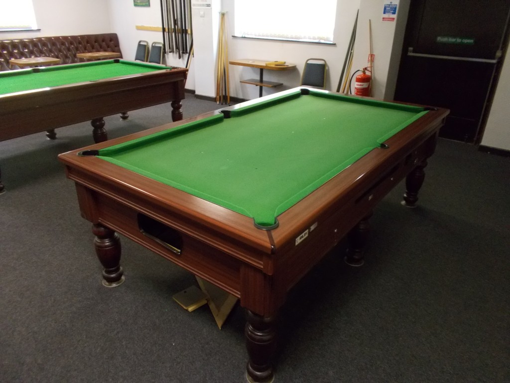 Two Pool Tables Recovered 8ft In Hucknall And 7ft Watnall