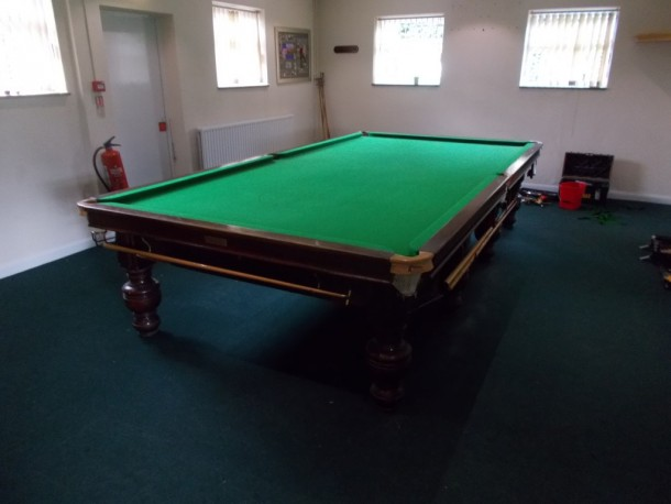 Chilwell golf finished table ex plessy match