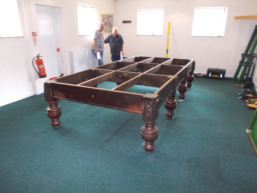 Dismantle Transport And Set Up Of Full Size Snooker Table In - Dismantle pool table