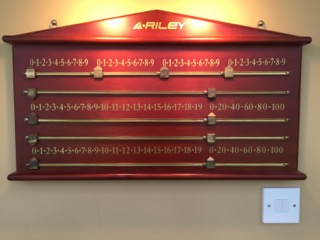 Aristocrat score board