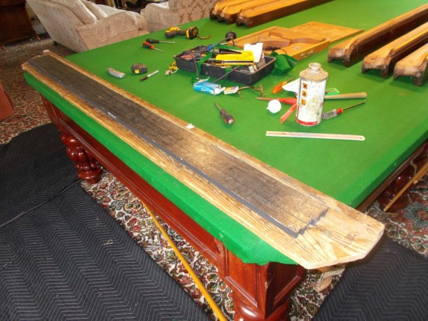 S york glued rubber on board
