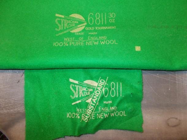 S york sub standard previous cloth against proper cloth
