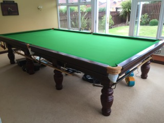 aristocrat full table clear of balls