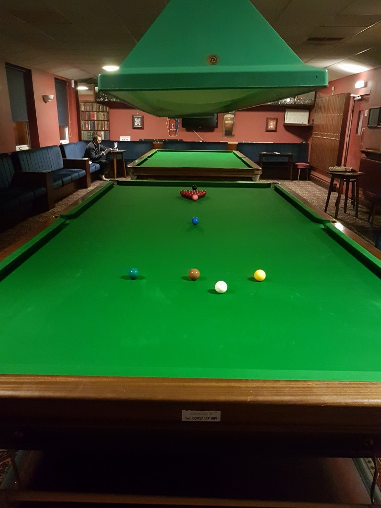 Local Long Eaton Club Recover Snooker Table Plus Re