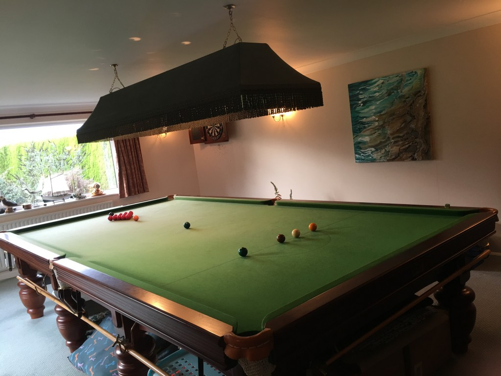 Full Size Snooker Table For Sale NOW SOLD GCL Billiards - Full size snooker table for sale
