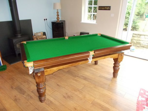 Ft Snooker Dining Table No Cushion Slips In This Table GCL - Pool table slate screws
