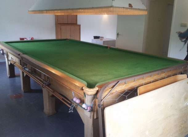 snooker table dismantle and transport relocation , use gcl billiards