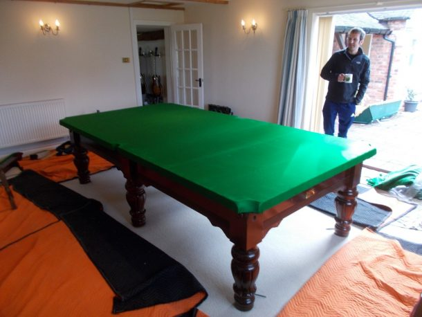 10ft karnehm hillman snooker table collected delivered for 10 ft table cloth