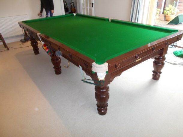 Snooker Table Dismantle And Transport Relocation Use GCL Billiards - Pool table wraps
