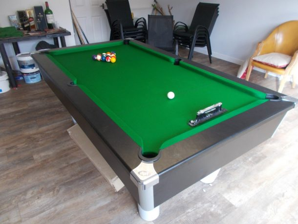Full Size Snooker Table Supply And Install For Manu Tuilagi GCL - Billiard pool table supplies