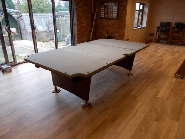American Ft Pool Table Install Rerubber And Cover Near - Leveling pool table slate