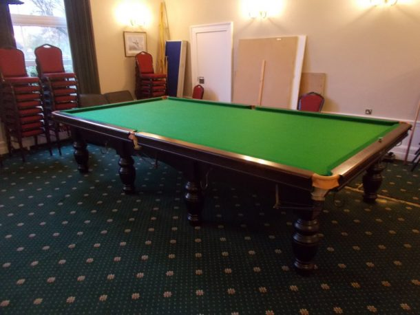 Snooker table dismantle and transport relocation use gcl billiards waddington officers mess finished table 610x458g greentooth Gallery