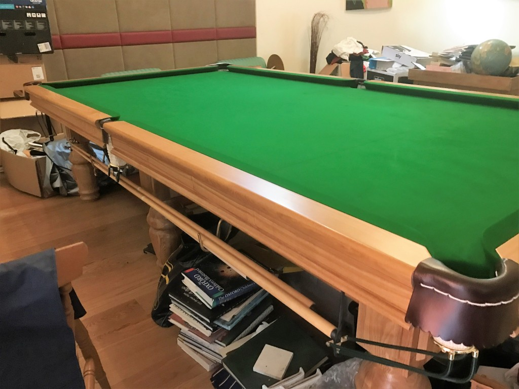 10ft oak birmingham billiards snooker table for sale for 10 foot snooker table