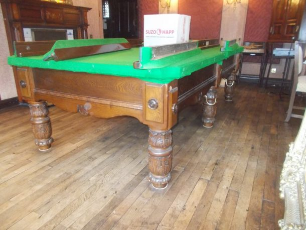 March GCL Billiards - How to move a pool table upstairs