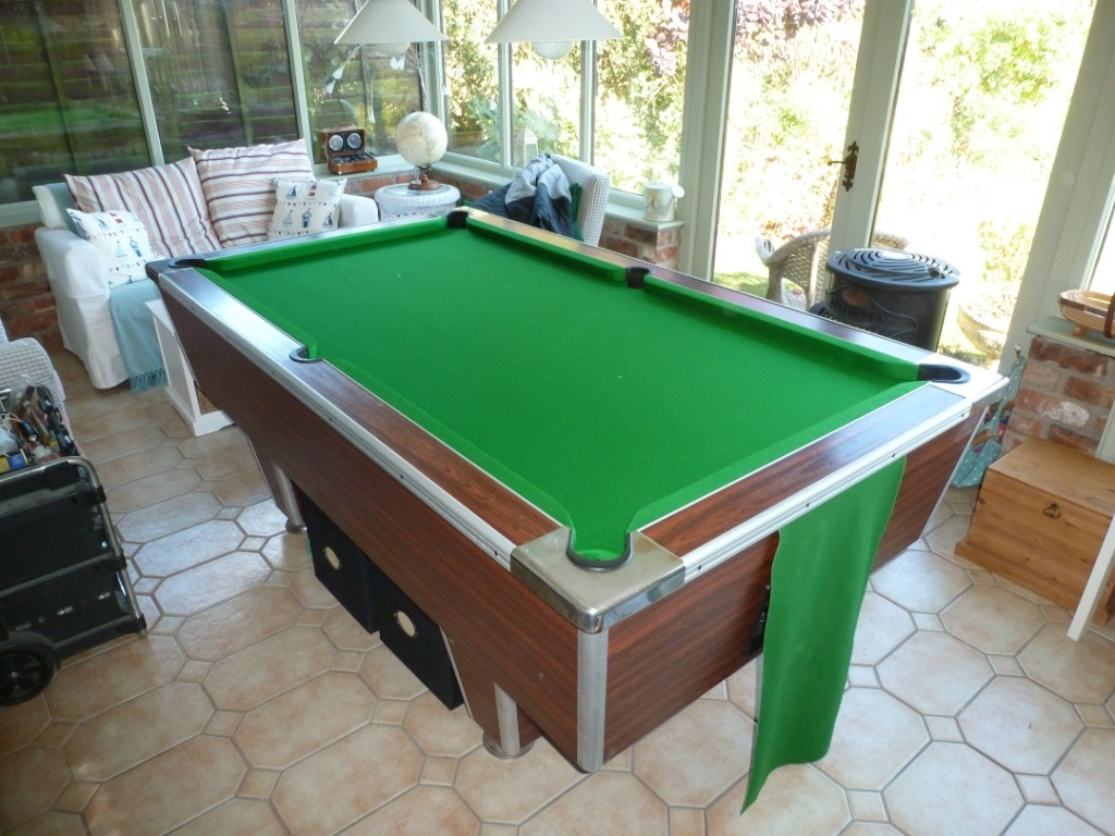 Re Baize Pool Table And Snooker Table In Nottingham