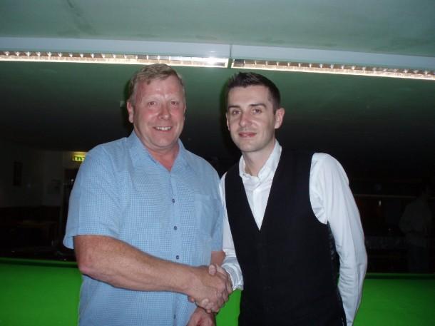Mark Selby Stapleford Cue club