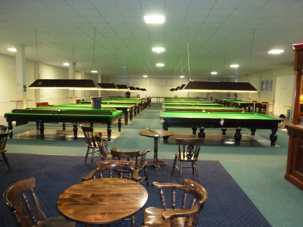 5 Snooker Table Re Covers At Butlins Skegness Lincolnshire