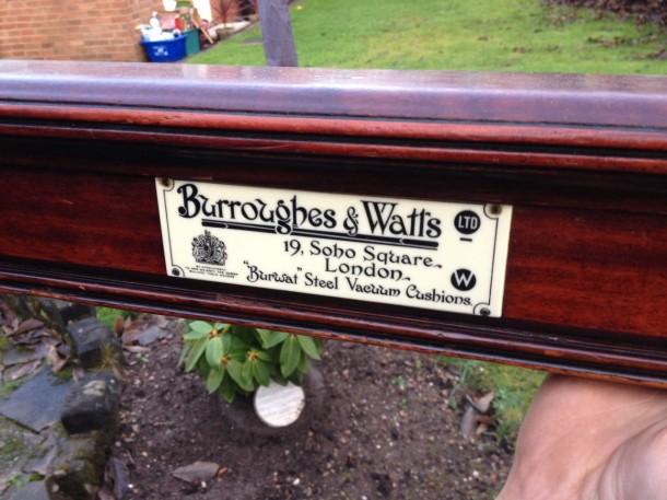 bens b7watts wood capping badge