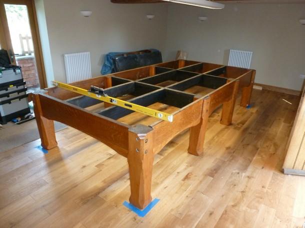 Oak skeg frame set up