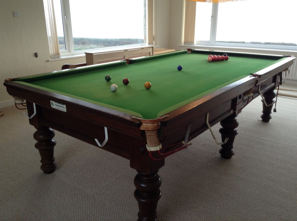 9ft Snooker Table For Sale Located On Anglesey North Wales