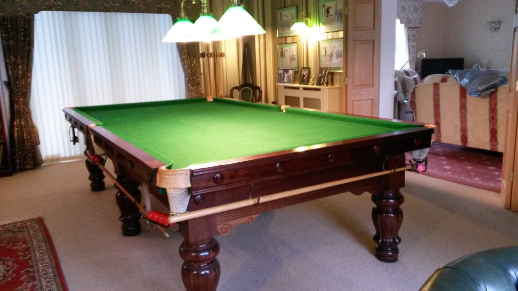 10ft karnehm and hillman snooker table now sold gcl for 10 foot snooker table for sale