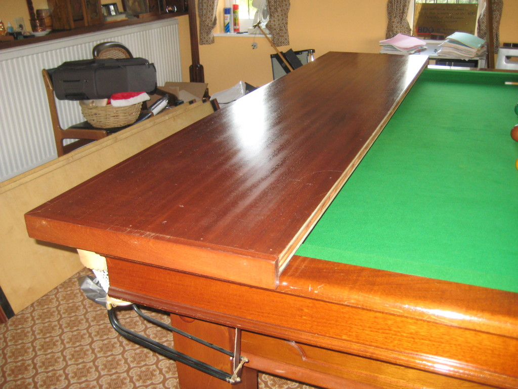 Full size custom made hard section snooker cover for full - Most expensive pool table ...