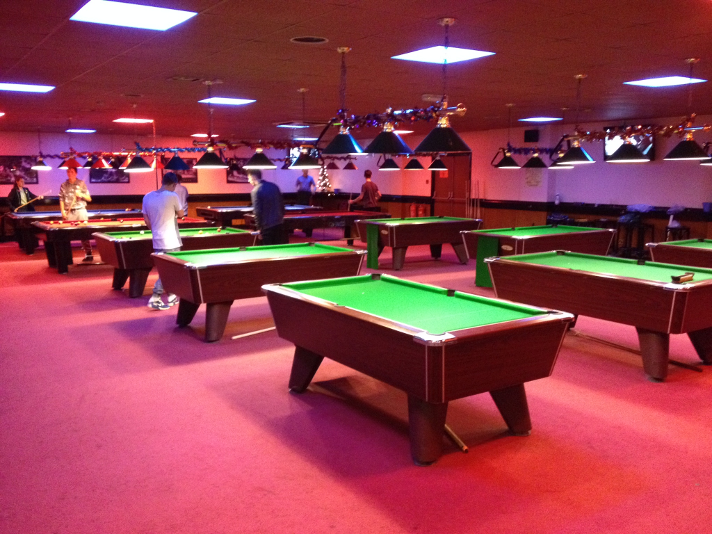 Hunters Bar Dec 15th 2015 7 Recovers On Pool