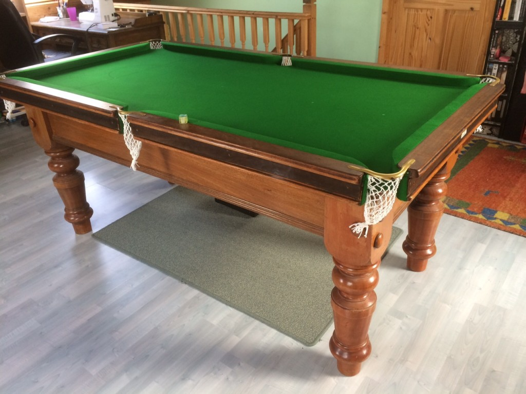 Now And Again I Get A Quality 6ft Snooker Table To Re