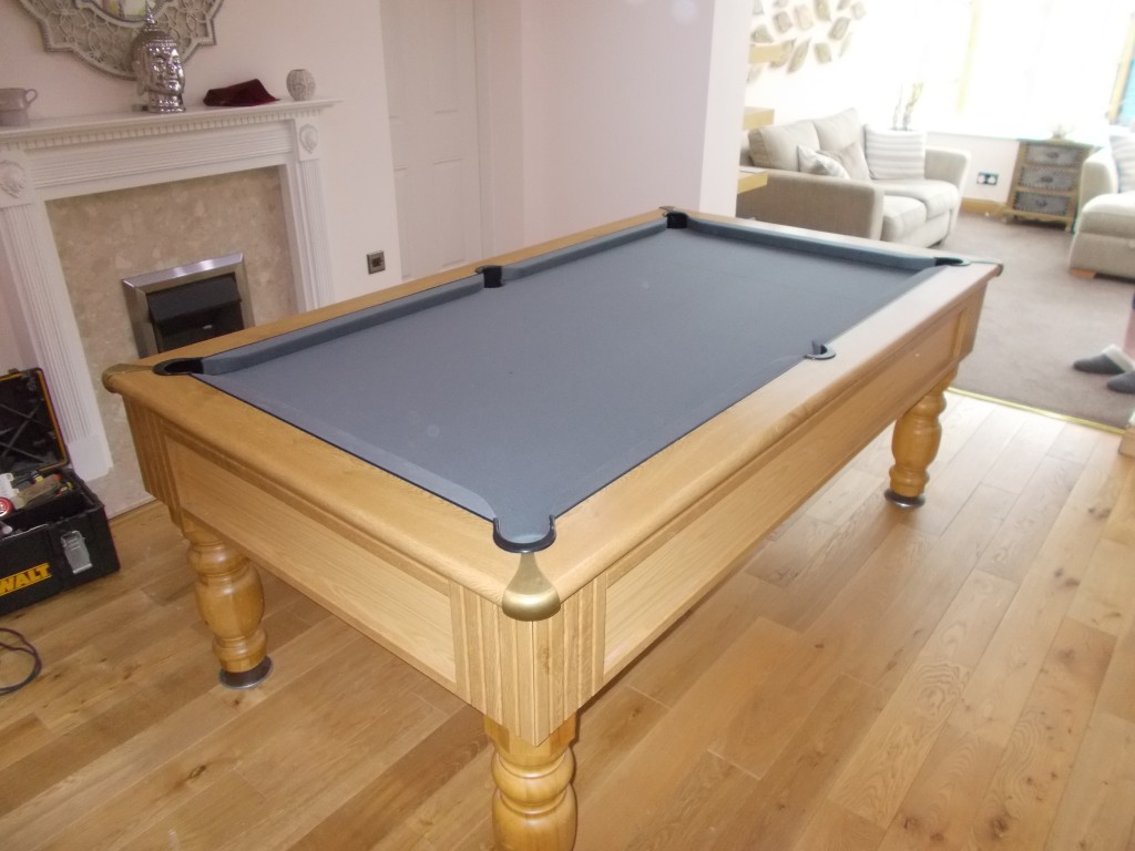 Special Order Grey 6811 Tournament Strachan Cloth On Pool
