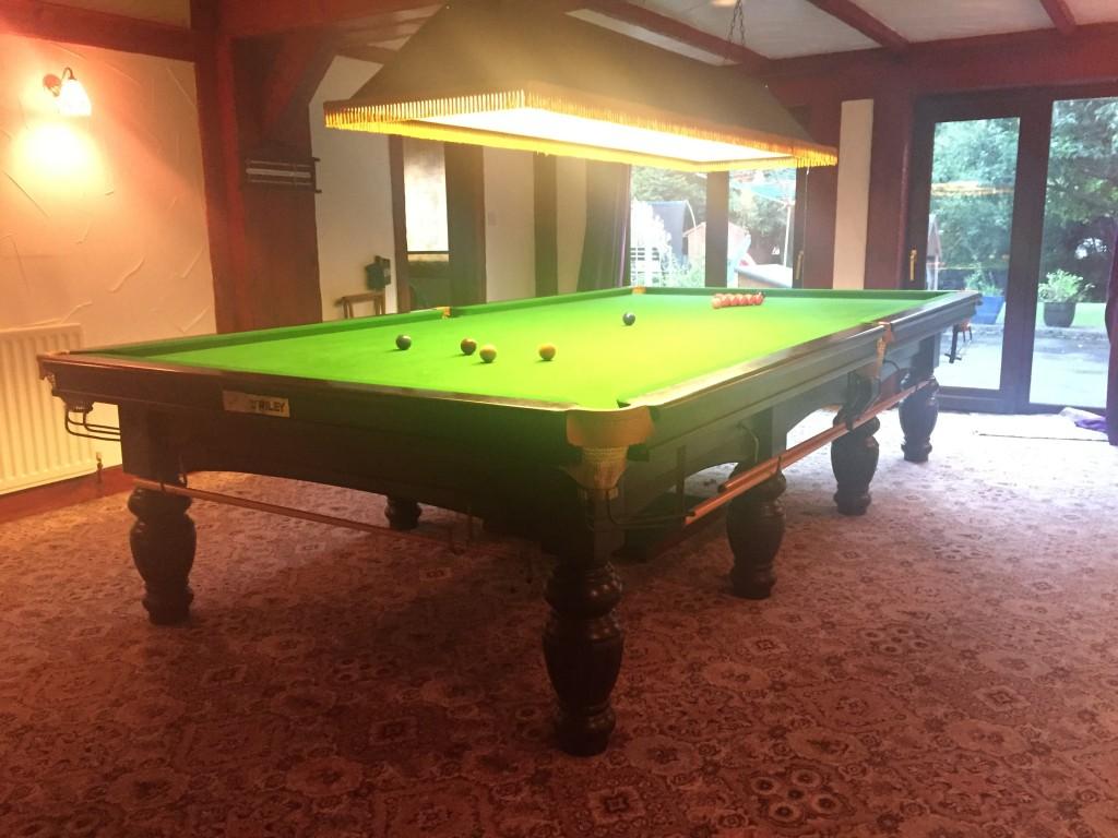 NOW SOLD Karnehm U0026 Hillman Square Legged Full Size Snooker Table U2026.SOLD  SOLD SOLD !!! | GCL Billiards