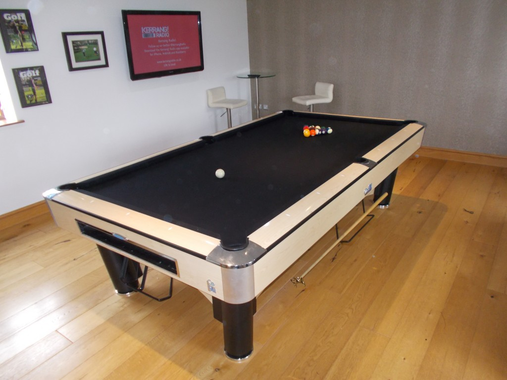 Sam K Steel Pool Table , Re Rubber , Re Cover , Attend To Slate Joints And  Check Level . | GCL Billiards