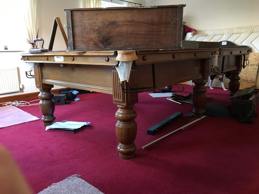 For sale gcl billiards for 10ft x 5ft snooker table