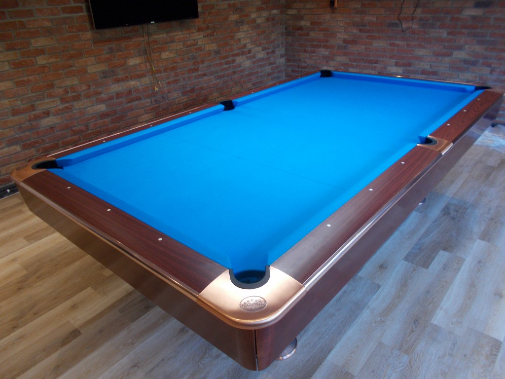 American 9ft Pool Table Install Re Rubber And Cover Near Wolverhampton . |  GCL Billiards
