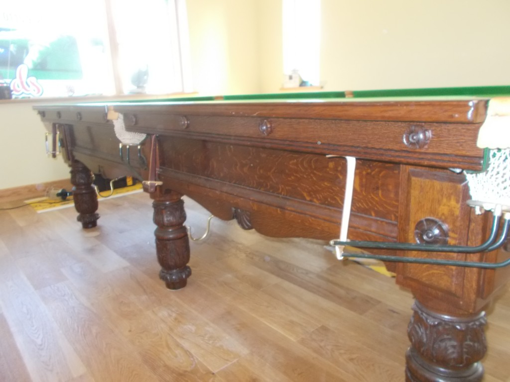 Arts Amp Crafts Thurston 9ft Billiard Table Move To North Wales Gcl Billiards